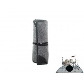 ROCKBAG RB22201B Drum Floor Carpet 200x200