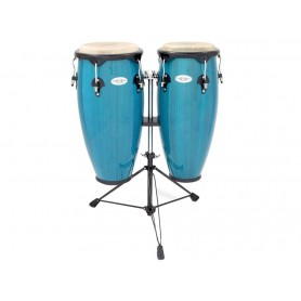 "TOCA 2300 Bahama Blue Set Congas in legno 10+11"""