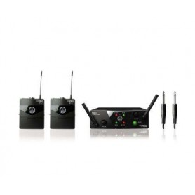 Akg WMS40 Pro Mini 2 Dual Instrumental Set