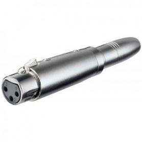 Adattatore XLR Femmina - Jack 6.3mm Femmina