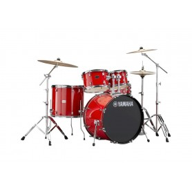 YAMAHA Rydeen Standard Hot Red c/piatti Paiste 101