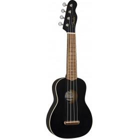Fender Venice Ukulele Soprano Black