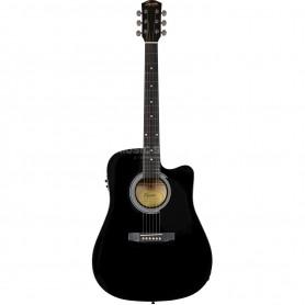 FENDER Squier SA105CE Black