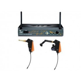 JTS UR-816D + UT-16GT(GW) + 508GT (Sistema UHF PLL wireless per chitarra elettrica e strumenti a fiato)
