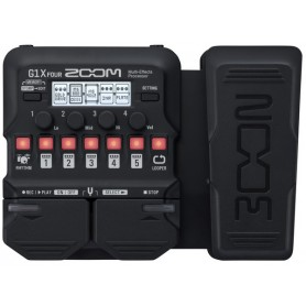 ZOOM G1X Four w/Expression Pedal