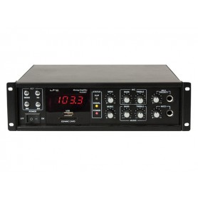 LTC PAA80BT--1x80 Watt- Bluetooth USB/MP3 & FM Tuner
