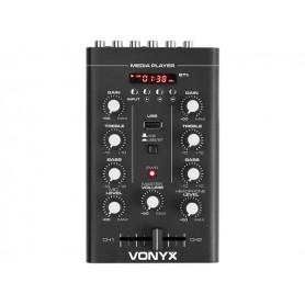 VONIX Mixer 2-Channel USB/MP3/Bluetooth