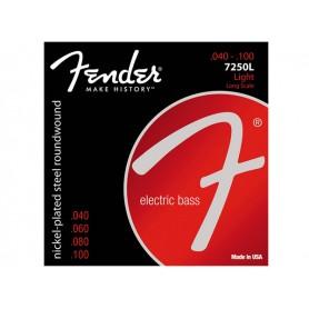 FENDER Corde Per Basso 7250L 040/100