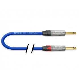REFERENCE RIC01 Blue 6mt JJ (Neutrik)