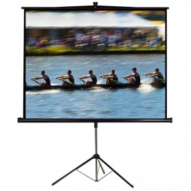 "LTC TRIPOD PROJECTION SCREEN - 112"" 200cm x 200 cm"