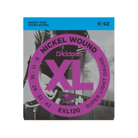 D'ADDARIO EXL120 Super Light 009/042