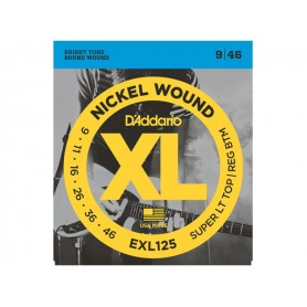 D'ADDARIO EXL125 Super Light Top / Regular 009/046