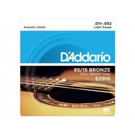 D'ADDARIO EZ910 American Bronze 011/052