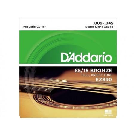 D'ADDARIO EZ890 American Bronze 009/045