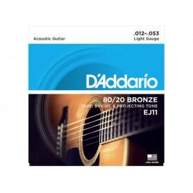D'ADDARIO EJ11 80/20 Bronze 012/053