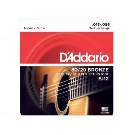 D'ADDARIO EJ12 80/20 Bronze 013/056
