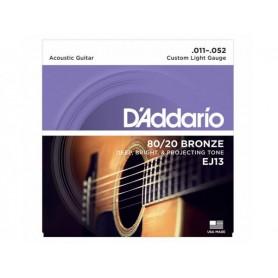 D'ADDARIO EJ13 80/20 Bronze 011-052
