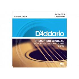 D'ADDARIO EJ16 Phosphor Bronze 012/053