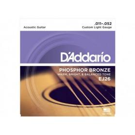 D'ADDARIO EJ26 Phosphor Bronze 011/052