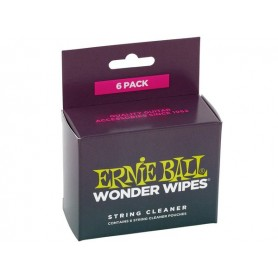 ERNIE BALL Wonder Wipes String Cleaner (6 Pack)