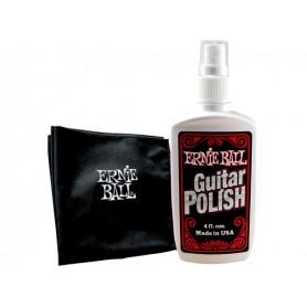 ERNIE BALL 4222 Kit Panno + Liquido per Pulizia Strumenti