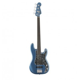 FENDER Tony Franklin Precision Bass Fretless Lake Placid Blue