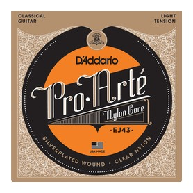 D'ADDARIO EJ43 Pro-Arté Nylon Light Tension