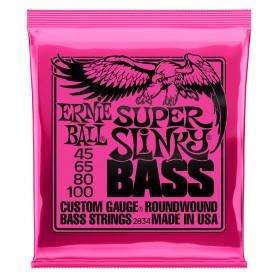 ERNIE BALL 2834 Super Slinky Bass NICKEL WOUND 045-100