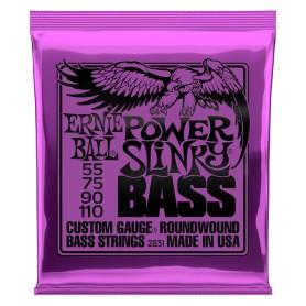 ERNIE BALL 2831 Power Slinky Bass NICKEL WOUND 055-110