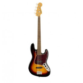 Squier Classic Vibe '60 Jazz Bass FRETLESS 3-Color Sunburst