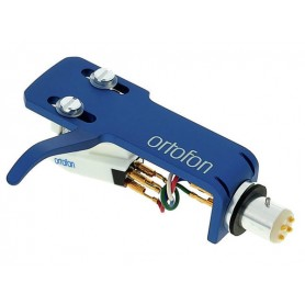 ORTOFON OM Scratch White on SH4 Blue Headshell