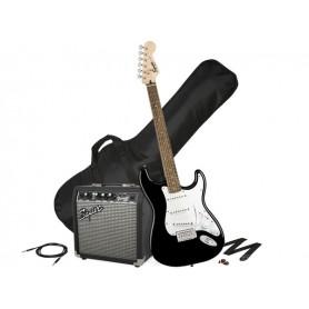 FENDER Squier Stratocaster SSS Pack 10G Black