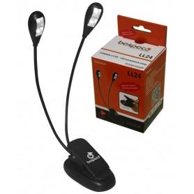 BESPECO LL24 - Lampada per leggio con 4 LED
