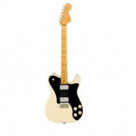 FENDER American Professional II Telecaster Deluxe MN Olympic White