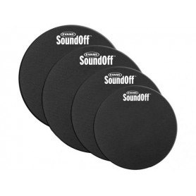 EVANS SO0244 SoundOff Fusion Kit