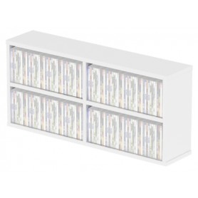 GLORIOUS CD Box 180 White BOX PER 180 CD BIANCO