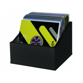 GLORIOUS Record Box 110 Advanced Black BOX IN LEGNO PER 110 VINILI NERO
