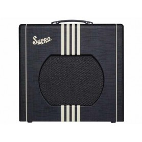 SUPRO Delta King 12 Black & Cream