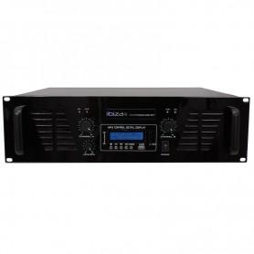 AMP1000USB-BT - PA Amplifier with Line Input, USB & Bluetooth 2 x 800 W