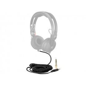 ZOMO Spiral Cord Deluxe Per Sennheiser Hd 25 - 3.5m - Nero
