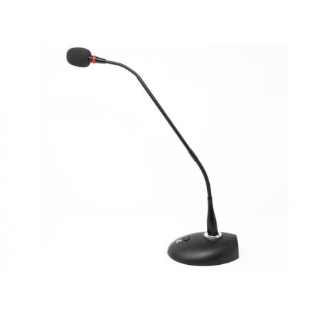 BESPECO GM4018 Microfono da Tavolo con basetta e collo snodabile