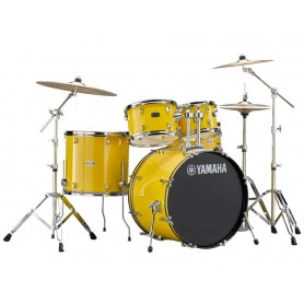 YAMAHA Rydeen Standard Mellow Yellow c/piatti Paiste 101